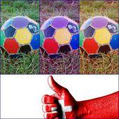 I like soccer — Stock fotografie