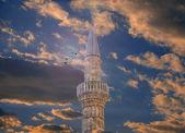 Mosque in macedonia — Stock Photo