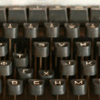 Stock Photo: Vintage type writer