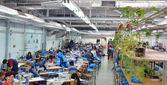 Fábrica têxtil — Foto Stock