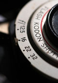 Vintage kodak tourst 2 roll film camera — Stock Photo