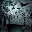 Royalty-Free Stock Vectorielle: Halloween illustration with Jack O
