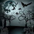 Royalty-Free Stock Imagen vectorial: Halloween illustration with Jack O