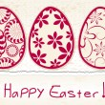 Beautiful Easter eggs illustration — Stock Vector