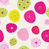 Seamless cute floral romantic background — Vecteur