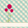 Beautiful floral romantic background — Stock vektor