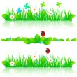 Grass set — Stock Vector #28612679