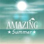 Retro summer illustration — Stock Vector #28631055