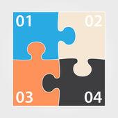 现代设计模板的说明 — 图库矢量图片