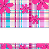 Cute floral background — Stock Vector