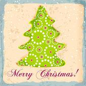 Cute Christmas card — Stock Vector