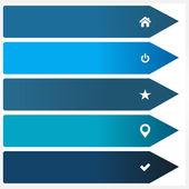 Illustration of modern design template — Stock Vector