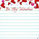 Cute romantic letter — Stock Vector