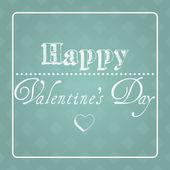Valentine's Day card illustration — Stock Vector