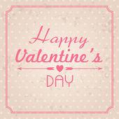 Valentine's Day card illustration — Διανυσματικό Αρχείο
