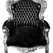 Stock Photo: Luxury armchair isolated. Vintage chair isolated