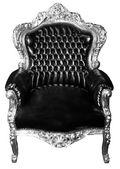 Lyxig fåtölj isolerade. vintage stol isolerade — Stockfoto
