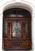 Old Wooden Door. — Stock Photo