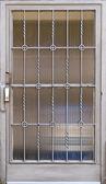 Metal door — Stock Photo