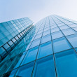 Modern glass silhouettes of skyscrapers. Business building — Stock Photo #26227063