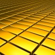 Gold metal texture background. — Stockfoto
