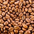 Brown coffee, background texture. roasted coffee beans. Brown co — Stock Photo