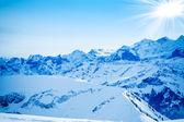 Montañas de invierno. — Foto de Stock