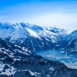 Stock Photo: Winter mountains.