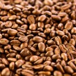 Brown coffee, background texture. roasted coffee beans — Stock Photo