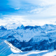 Winter landscape. winter mountains landscape. Beautiful winter — Stock Photo #29756197