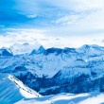 Winter landscape. winter mountains landscape. Beautiful winter — Stock Photo