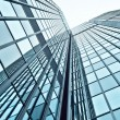 Glass modern business center — Stock Photo