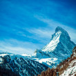 Stock Photo: Matterhorn , Swiss Alps