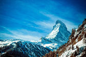 Matterhorn , Swiss Alps — Stock Photo