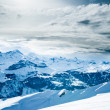 Winter landscape. winter mountains landscape. Beautiful winter — Stock Photo #30235331