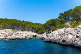 Majorca Island. Canyon and coast — Stock Photo
