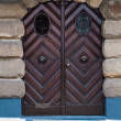Wood door — Stock Photo #31584123