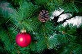 La decoración de Navidad — Foto de Stock
