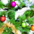 Christmas decoration baubles — Foto Stock