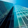 Office buildings.  Modern glass building exterior — Stock Photo