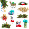 Christmas collection isolated on white background. money as a g — Stock Photo #33521751