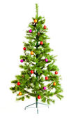 Christmas tree isolated on white — Fotografia Stock