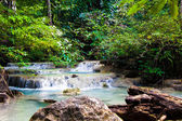 Erawan Waterfall, Kanchanaburi, Thailand. — Stock Photo