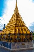 Wat pra kaew, Grand palace ,Bangkok,Thailand. — Stock Photo