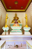 Golden buddha. Thailand. — Stock Photo