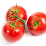 Three fresh tomatoes — Stock Photo #38269723