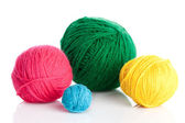 Ball of knitting yarn — Stock Photo