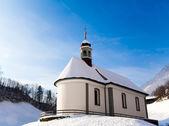 Igreja branca. — Foto Stock