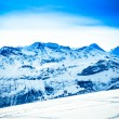 Top of mountains. High mountains under snow — Stock Photo #38748975