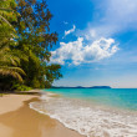 Tropical beach in Thailand. — Stock Photo #38941435